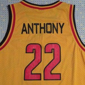 328b7711bc0 Jordan Shirts - Carmelo Anthony Oak Hill Academy Jersey XL